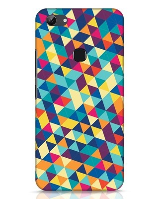 Shop Abstract Triangles Vivo Y83 Mobile Cover-Front