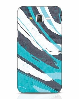 Shop Abstract Watercolor Samsung Galaxy J7 Mobile Cover-Front