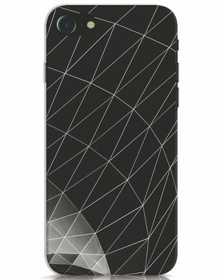 Shop Abstractgeometric iPhone 7 Mobile Cover-Front