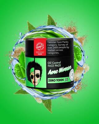 Shop Acne Warrior Natural Face Pack-Front