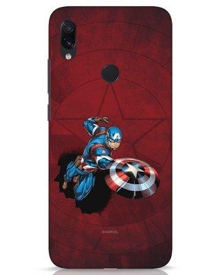 Shop Action Captain Xiaomi Redmi Note 7s Mobile Cover (AVL)-Front