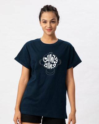 Shop Adore Bandor Boyfriend T-Shirt-Front
