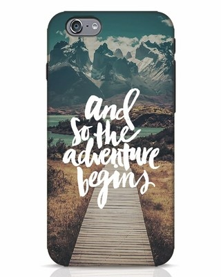 Shop Adventure Begins iPhone 6 Mobile Cover-Front