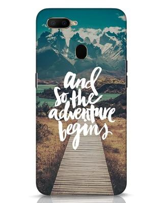 Shop Adventure Begins Oppo A5s Mobile Cover-Front