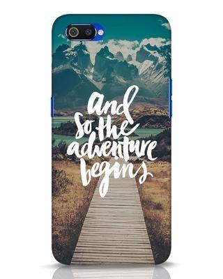 Shop Adventure Begins Realme C2 Mobile Cover-Front