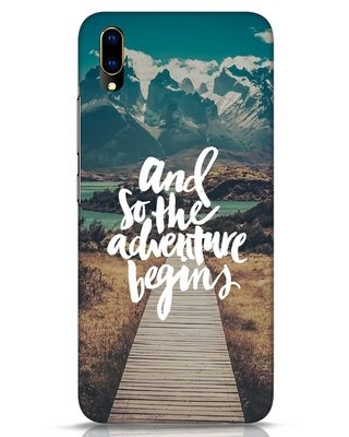 Shop Adventure Begins Vivo V11 Pro Mobile Cover-Front