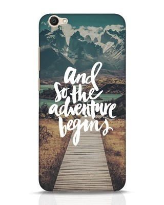 Shop Adventure Begins Vivo V5 Mobile Cover-Front
