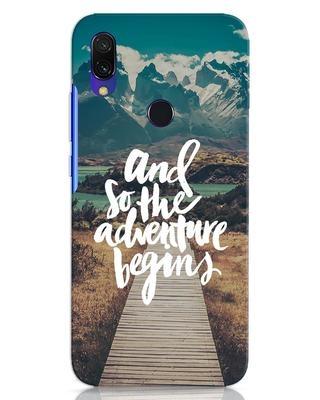 Shop Adventure Begins Xiaomi Redmi 7 Mobile Cover-Front