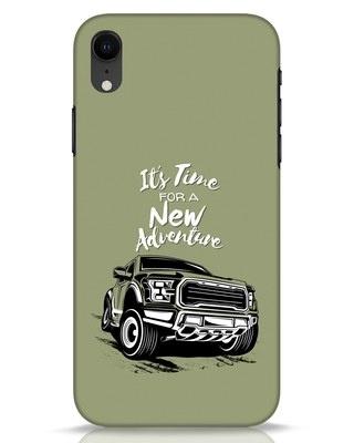 Shop Adventure Car iPhone XR Mobile Cover-Front