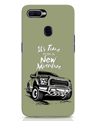 Shop Adventure Car Oppo F9 Pro Mobile Cover-Front