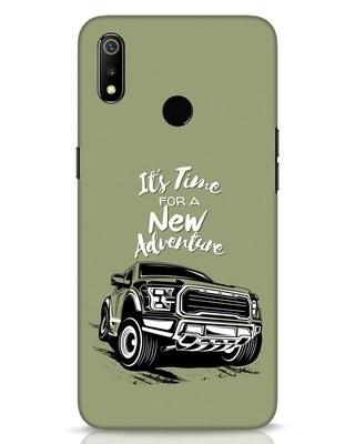 Shop Adventure Car Realme 3 Mobile Cover-Front