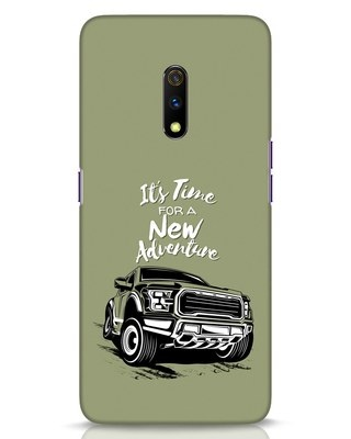 Shop Adventure Car Realme X Mobile Cover-Front