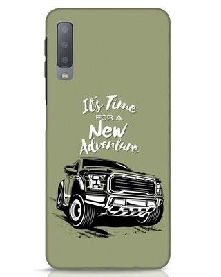 Shop Adventure Car Samsung Galaxy A7 Mobile Cover-Front