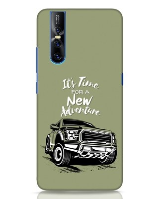 Shop Adventure Car Vivo V15 Pro Mobile Cover-Front