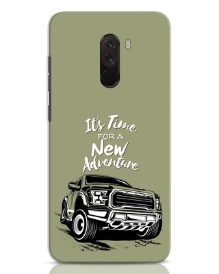 Shop Adventure Car Xiaomi POCO F1 Mobile Cover-Front