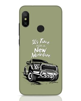 Shop Adventure Car Xiaomi Redmi 6 Pro Mobile Cover-Front