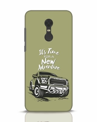 Shop Adventure Car Xiaomi Redmi Note 5 Mobile Cover-Front