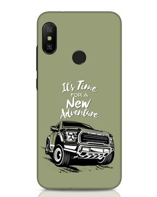 Shop Adventure Car Xiaomi Redmi Note 6 Pro Mobile Cover-Front