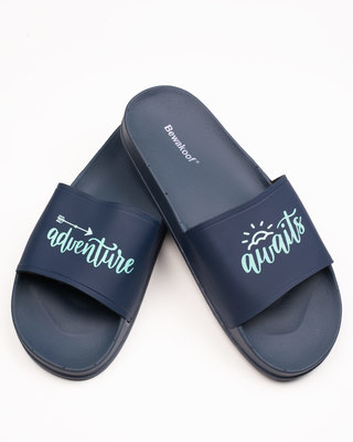 Shop Adventure Time Printed Sliders-Front