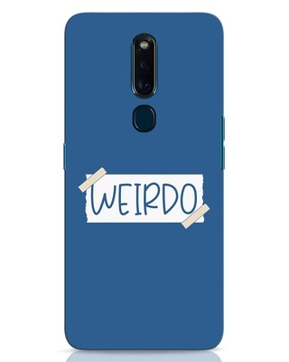 Shop Ajeeb Oppo F11 Pro Mobile Cover-Front