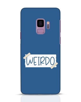 Shop Ajeeb Samsung Galaxy S9 Mobile Cover-Front