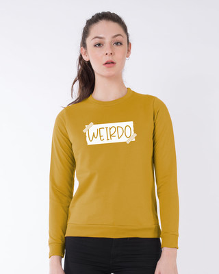 Shop Ajeeb Fleece Sweater-Front