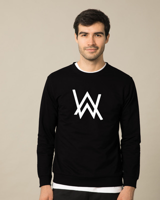 Shop A.W. Music (GID) Fleece Sweater-Front