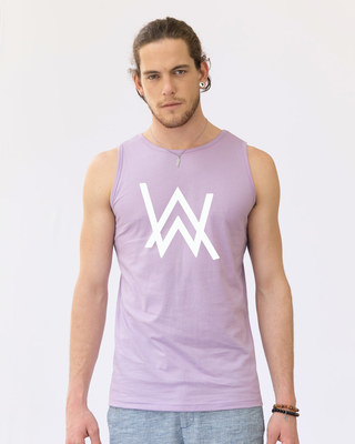 Shop A.W. Music Glow In Dark Vest -Front