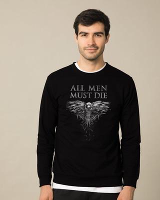 Shop All Men Must Die Sweatshirt (GTL)-Front