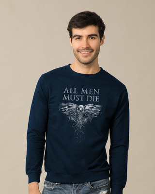 Shop All Men Must Die Sweatshirt (GTL)-Front
