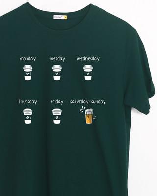 Buy All Week Half Sleeve T-Shirt Online India @ Bewakoof.com