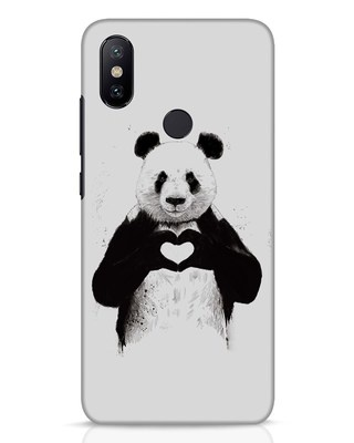 Shop All You Need Is Love Xiaomi Mi A2 Mobile Cover-Front