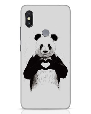 Shop All You Need Is Love Xiaomi Redmi Y2 Mobile Cover-Front