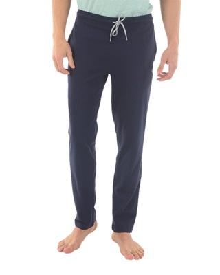 Shop Almo Fresco Slim Fit Cotton Track Pants-Front