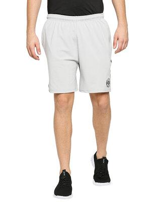 Shop Alstyle Solid Men Lgrey Regular Shorts-Front