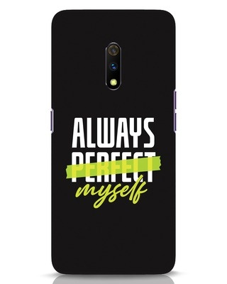 Shop Always Myself Realme X Mobile Cover-Front