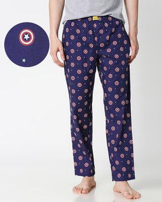 Shop America Shield All Over Printed Pyjama (AVL)-Front