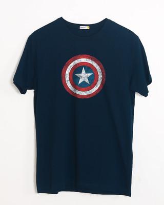 Buy America Shield Half Sleeve T-Shirt (AVL) Online India @ Bewakoof.com