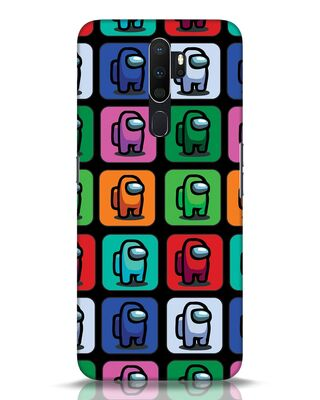Shop Among Us Aop Oppo A5 2020 Mobile Cover-Front