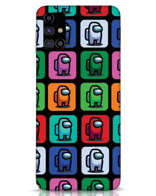Shop Among Us Aop Samsung Galaxy M31s Mobile Cover-Front