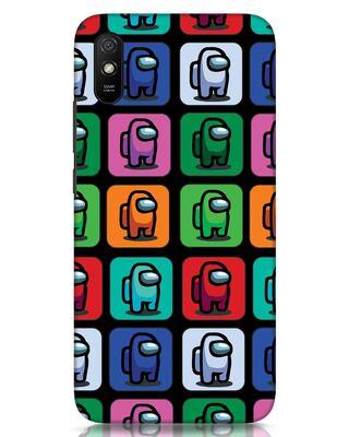 Shop Among Us Aop Xiaomi Redmi 9A Mobile Cover-Front