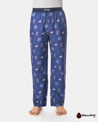 Shop Smugglerz Amsterdam Pyjamas Navy-Front
