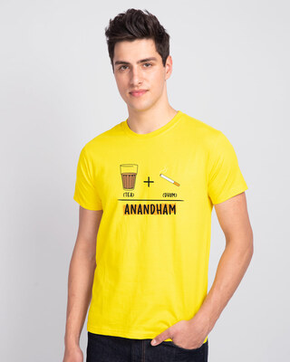 Shop Anandham Half Sleeve T-Shirt-Front