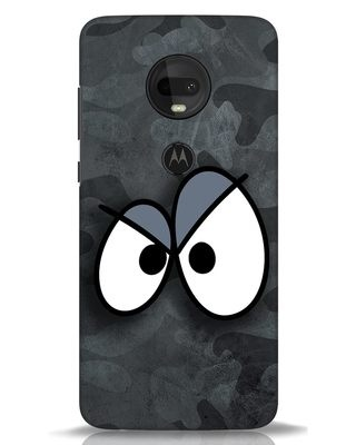 Shop Angry Camo Moto G7 Mobile Cover-Front