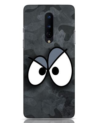 Shop Angry Camo OnePlus 8 Mobile Cover-Front
