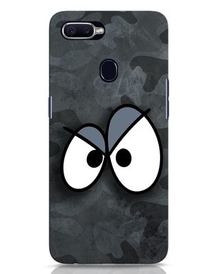 Shop Angry Camo Oppo F9 Pro Mobile Cover-Front