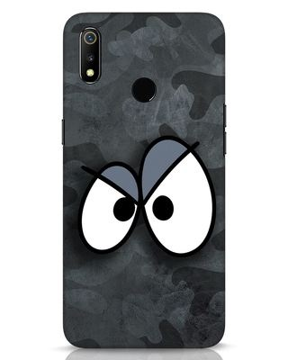 Shop Angry Camo Realme 3 Mobile Cover-Front
