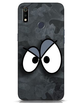 Shop Angry Camo Realme 3i Mobile Cover-Front