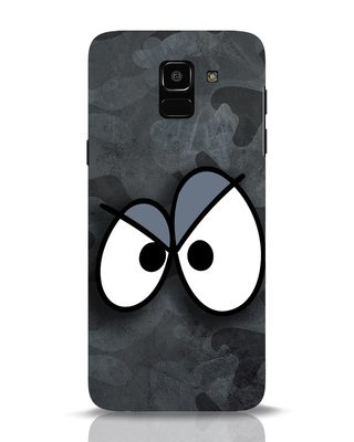 Shop Angry Camo Samsung Galaxy J6 Mobile Cover-Front
