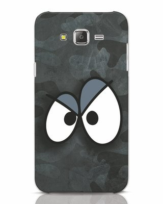 Shop Angry Camo Samsung Galaxy J7 Mobile Cover-Front